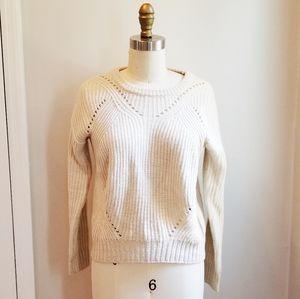 Aqua Womens Knit sweater Pullover size small